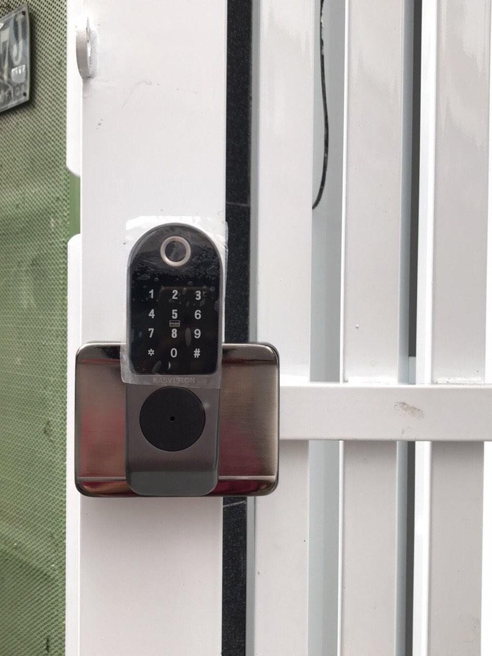 Khóa cửa cổng vân tay 2 chiều VR-1200B